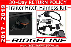1 Pack Honda Parts 08L91-TG7-101 Trailer Hitch Harness
