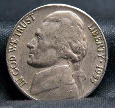 1955 5C Jefferson Nickel