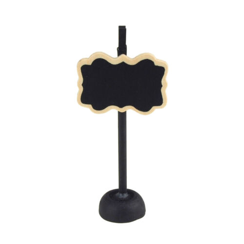 Card Holder Chalkboard Wooden Signs with Border