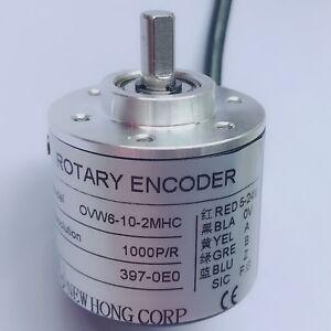 NEW Incremental Optical Rotay Encoder 1000P//R AB phase encoder 6mm Shaft  5-24V