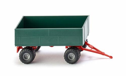 WIKING Modell 1:87//H0 Landwirtschaftlicher Anhänger dunkelgrün #038839 NEU//OVP