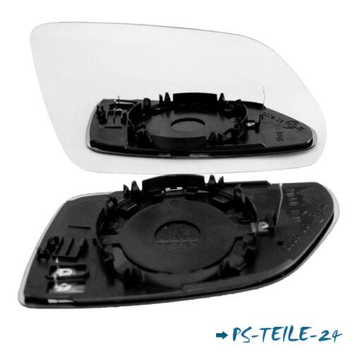 Spiegelglas für SKODA OCTAVIA 2004-2008 rechts sphärisch beifahrerseite