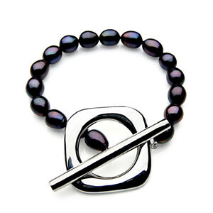 11mm-Black-Freshwater-Cultured-Pearl-Bracelet-Pacific-Pearls-Gifts-For-Yourself