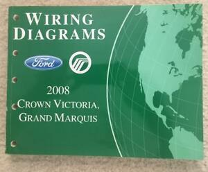 2008 Ford Crown Victoria Grand Marquis Wiring Diagrams OEM ...