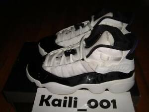 huge discount 6f18f e8313 Nike Air Jordan 6 RINGS (GS) Size 3.5y Concord Retro 323419 ...