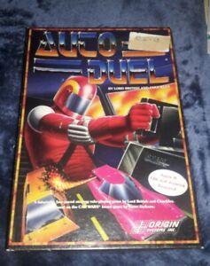 Vintage-Software-Apple-II-II-IIc-IIe-Game-AUTODUEL-Origin-no-tool-set