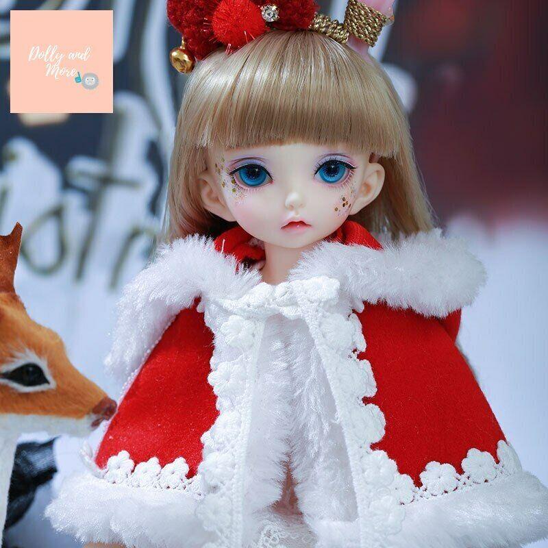 Fairyland Littlefee Luna BJD Doll 1 6 Body fullset muñeca recast kawaii navidad