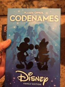 New Disney Codenames by Vlaada Chvatil Family Edition Card Games Code Names #B17