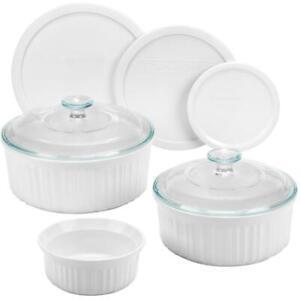 Bnew Corningware® French White 8-pc Set