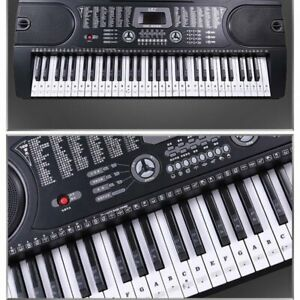 Piano-Stickers-For-37-49-54-61-88-Key-Keyboards-Transparent-And-Removable-New