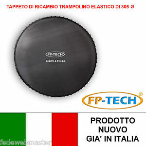 TAPPETO-DI-RICAMBIO-TRAMPOLINO-ELASTICO-DA-GIARDINO-305-CM-DI-DIAMETRO