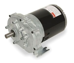 Dayton Parallel Shaft Split Phase Gear Motor 1 4 Hp 6 Rpm