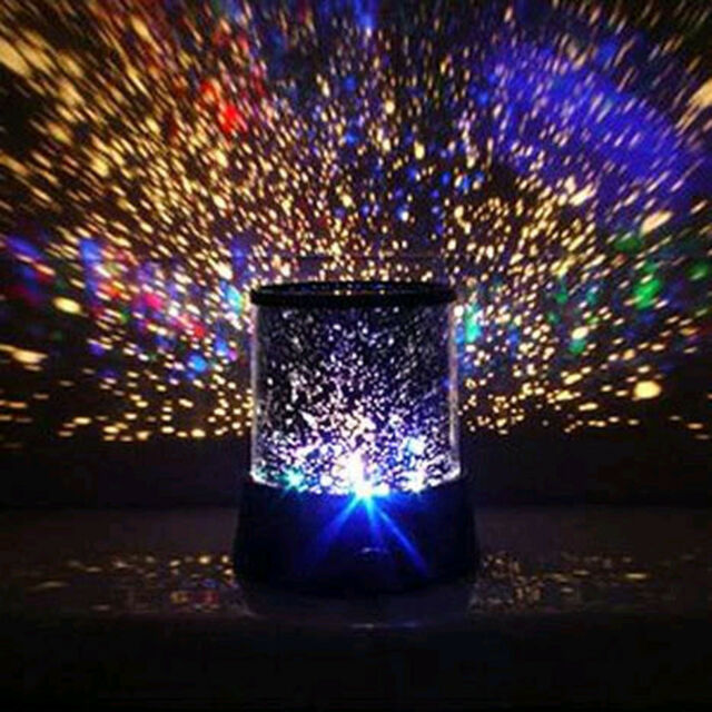 Colourful Stars Cosmos ASTRONOMY Laser LIGHT SHOW IMAGE Projector Night Light