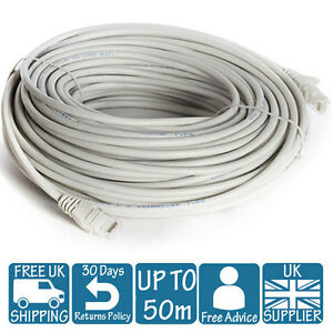 3M 5M 10M 15M 20M 30M 40M 50M LONG NETWORK ETHERNET Cable INTERNET ...