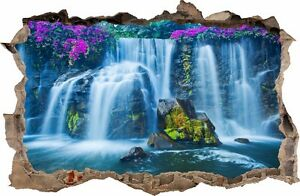 Details Zu Wandaufkleber Loch In Der Wand 3d Wasserfall Wand Dekor Aufkleber Wandtattoo 30