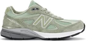 sports shoes 027b2 8c66c Image is loading NEW-BALANCE-990-M990SM4-SILVER-MINT-GREEN-BLUE-