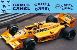 1/43 Lotus 99t 1987 Senna Ca Sponsor Decals Tb Decal Tbd56