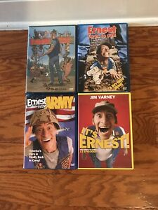 Ernest-Goes-to-Jail-4-DVD-Lot-Hey-Vern-In-The-Army-Goes-To-Camp-NEW-Series