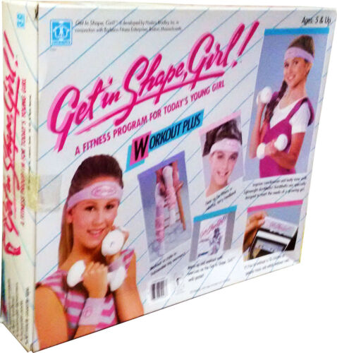 Workout Plus Get in Shape Girl MISB!! Collectible..! Vintage 1986 New!
