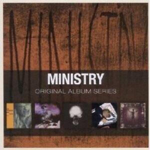 MINISTRY-ORIGINAL-ALBUM-SERIES-5-CD-ROCK-NEW
