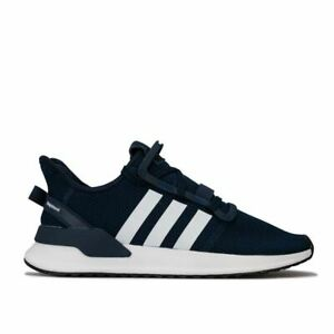Hommes-Adidas-Originals-U-Path-Run-Sock-comme-Respirant-Baskets-En-Bleu
