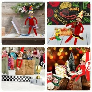 Elf Mini Suitcase for Christmas Elf Accessories and Ideas for Decoration