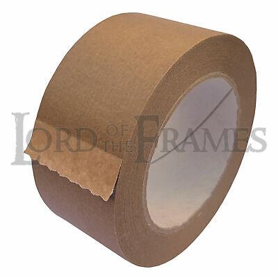 Super korting nieuwe stijl winkel 50mm x 50m Eco15 Brown Self Adhesive Backing Tape Picture Framing Canvas  Craft | eBay