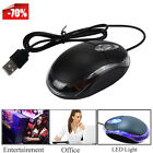 LED Adjustable 1200 DPI USB Wired Optical Gaming Mouse Mice For Gamer PC Laptop