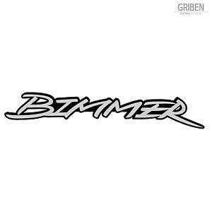 Griben Car Nickname Bimmer Emblem Badge 4.7 inch 30202 B for BMW