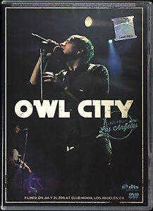 OWL CITY Live From Los Angeles 2011 MALAYSIA EDITION NTSC DVD-9 RARE REGION ALL