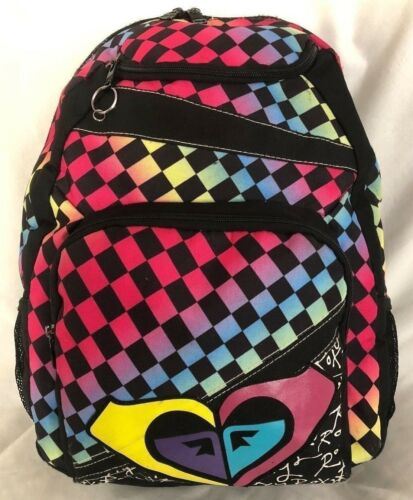 Karierte Roxy Purse 5 Back With X Fchern Compartments 6 12 Mit 6 18 Handbag Pack Handtasche dRBqwR