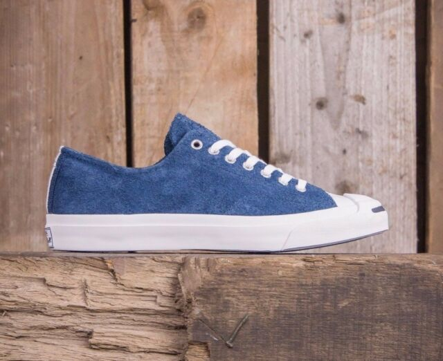 a7a49957b958 NEW  85 Converse Jack Purcell Jack Ox Suede Navy Navy 149940C US Mens 9.5