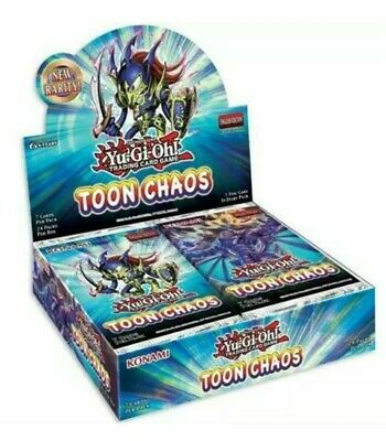 YuGiOh Toon Chaos Booster Box 1st Edition Factory Sealed