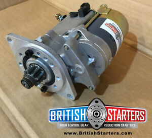 Triumph spitfire hi torque gear reduction starter motor ebay for Hi torque starter motor
