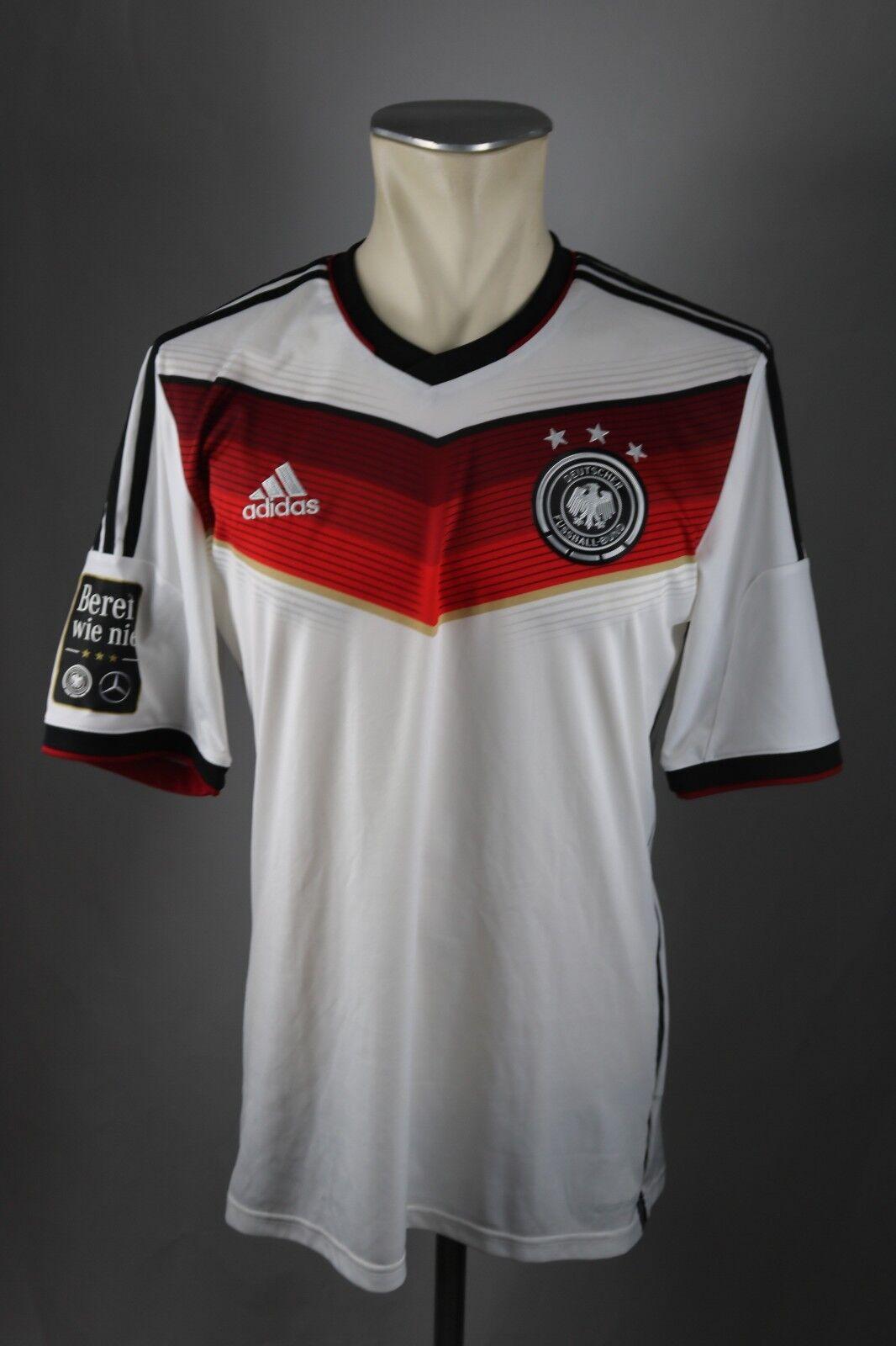 Deutschland Trikot Gr. M Adidas WM 2014 DFB Germany Mercedes Bereit wie nie  | Spielzeugwelt, spielen Sie Ihre eigene Welt