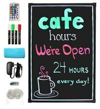 Everbilt 16 In X 24 In Led Message Board For Resturant Menu Or Retail Display
