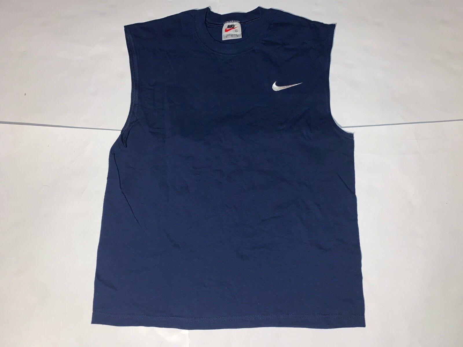 Vintage Bootleg Nike White Tag Cutoff T-Shirts (Youth XL/Adult Small)