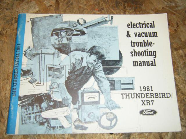 1981 Ford Thunderbird Mercury Cougar Xr7 Electrical Vacuum