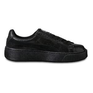 PUMA Basket Platform NS WOMEN BLACK 364587 01 piattaforma Sneaker Nero