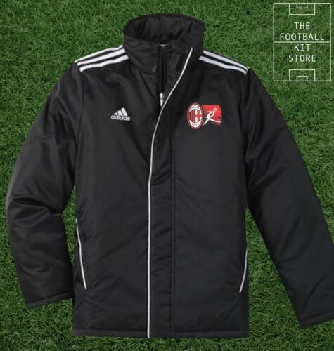 adidas AC Milan Academy Core Stadium Jacket Boys Football Training All Sizes
