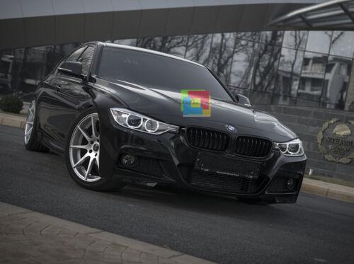 GRIGLIA ANTERIORE NERA BMW SERIE 3 F30 F31 2011 IN POI CALANDRA NERO OPACO M