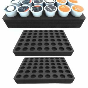"Coffee Pod Organizer Drawer Insert Fits Keurig K-Cup 36 Slot 12.5/"" x 12.5/"""