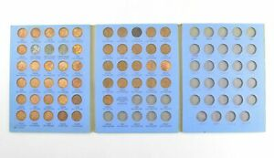 Complete-1941-58-Lincoln-Wheat-Cent-Set-Includes-1943-Steel-Cents-Bulk-amp-Save