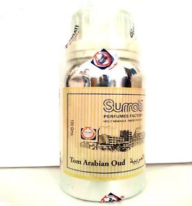 Tom Arabian Oud Conc. Perfume Oil Attar by Surrati perfumes 3ml,6ml,12ml ,36ml