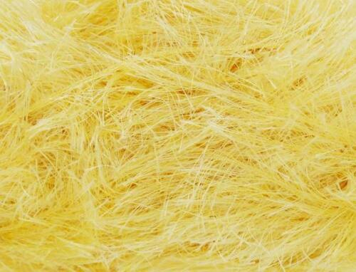 Yarn 50g 3064 EASTER YELLOW King Cole TINSEL Chunky Knitting Wool