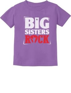 Girls-Big-Sisters-Rock-Best-Siblings-Gift-Toddler-Infant-Kids-T-Shirt-Cool