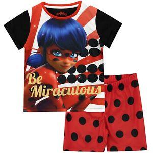 Miraculeuse-Coccinelle-Pyjama-je-Kids-Lady-Bug-Pyjama-je-filles-miraculeuse-Coccinelle-Pjs
