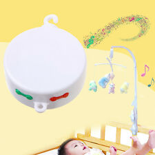 Baby Bedding Rotating Musical Box Mobile Music Toy Gift Plays Micro SD Card Free