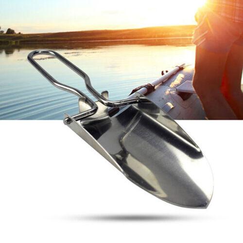 multi-functional mini folding shovel survival spade emergency fishing camping/_RI
