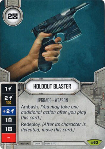 63 Rare Star Wars Destiny Awakenings Sold with matching Die x1 Holdout Blaster